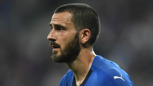 Leonardo Bonucci Italy 2018