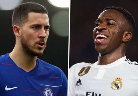 Why waste £100m on Hazard when Real have wonderkid Vinicius Jr?