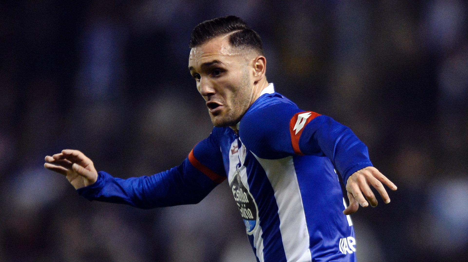 Lucas Perez Deportivo La Coruna 2017-18