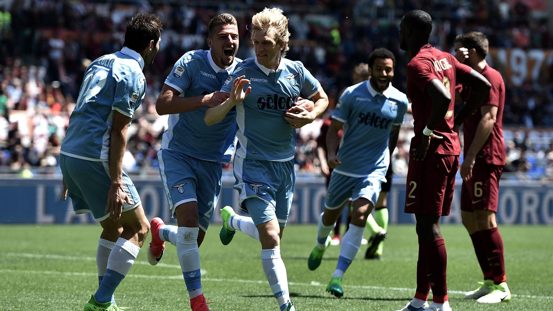 Dusan Basta Roma Lazio Serie A