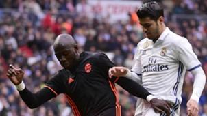 Álvaro Morata Eliaquim Mangala Real Madrid Valencia LaLiga 29042017