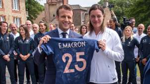 Emmanuel Macron Corrine Diacre France