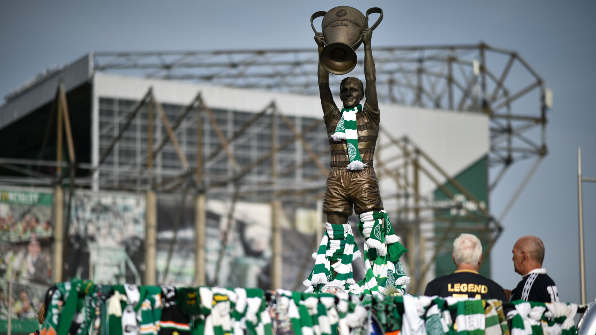 Billy McNeill Tributes 2018-19 Getty