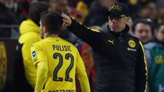 Christian Pulisic Peter Stoger Borussia Dortmund