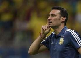 Lionel Scaloni Argentina Colombia Copa América