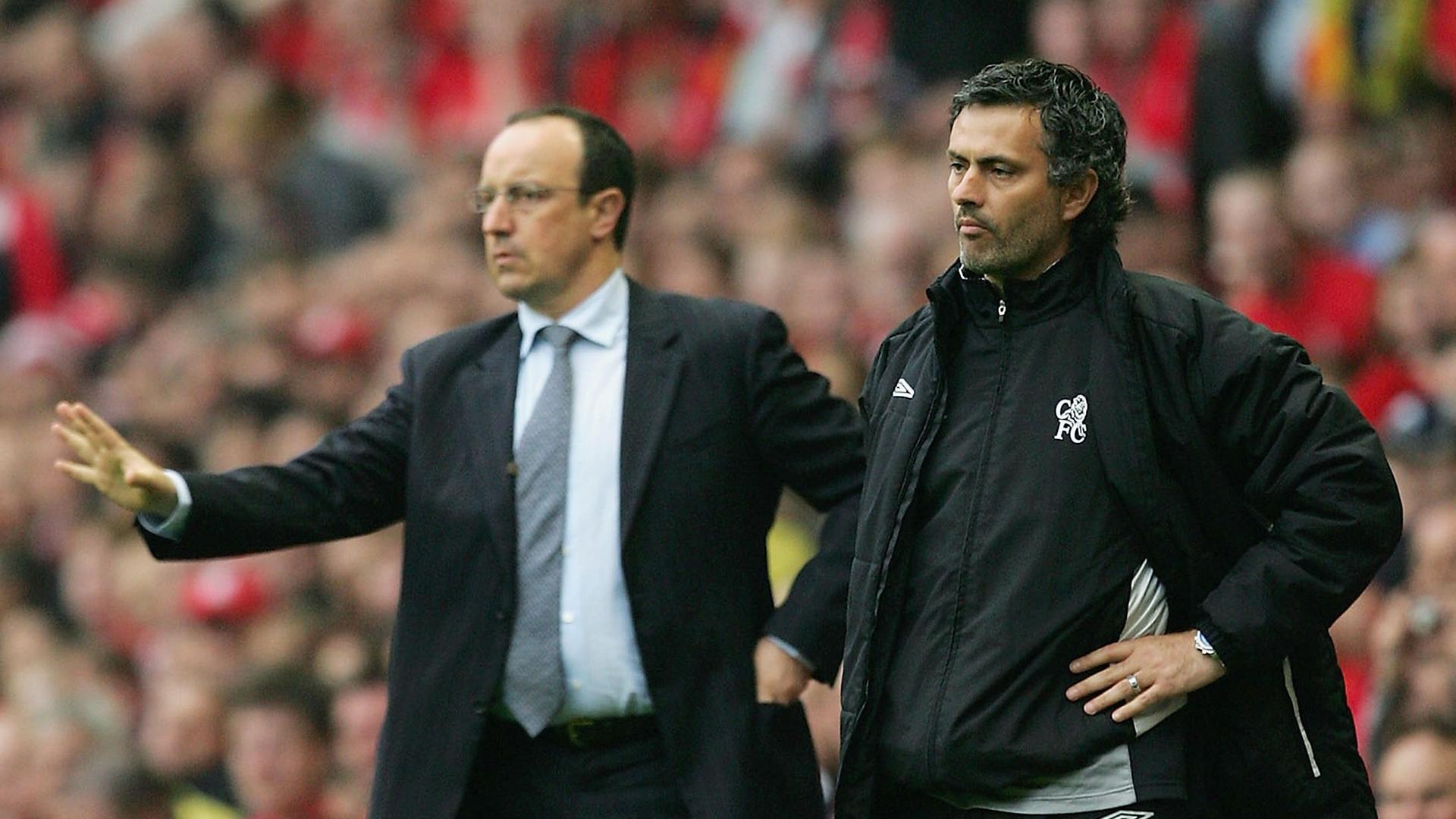 Jose Mourinho Rafael Benitez Champions League 2005