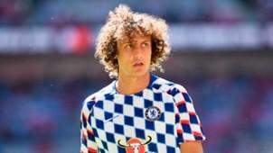 David Luiz Chelsea versus Man City