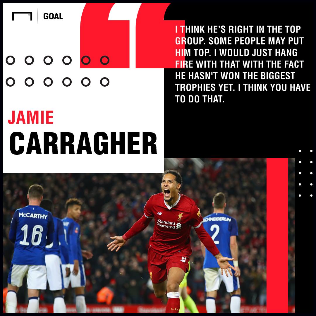 Jamie Carragher on Virgil van Dijk