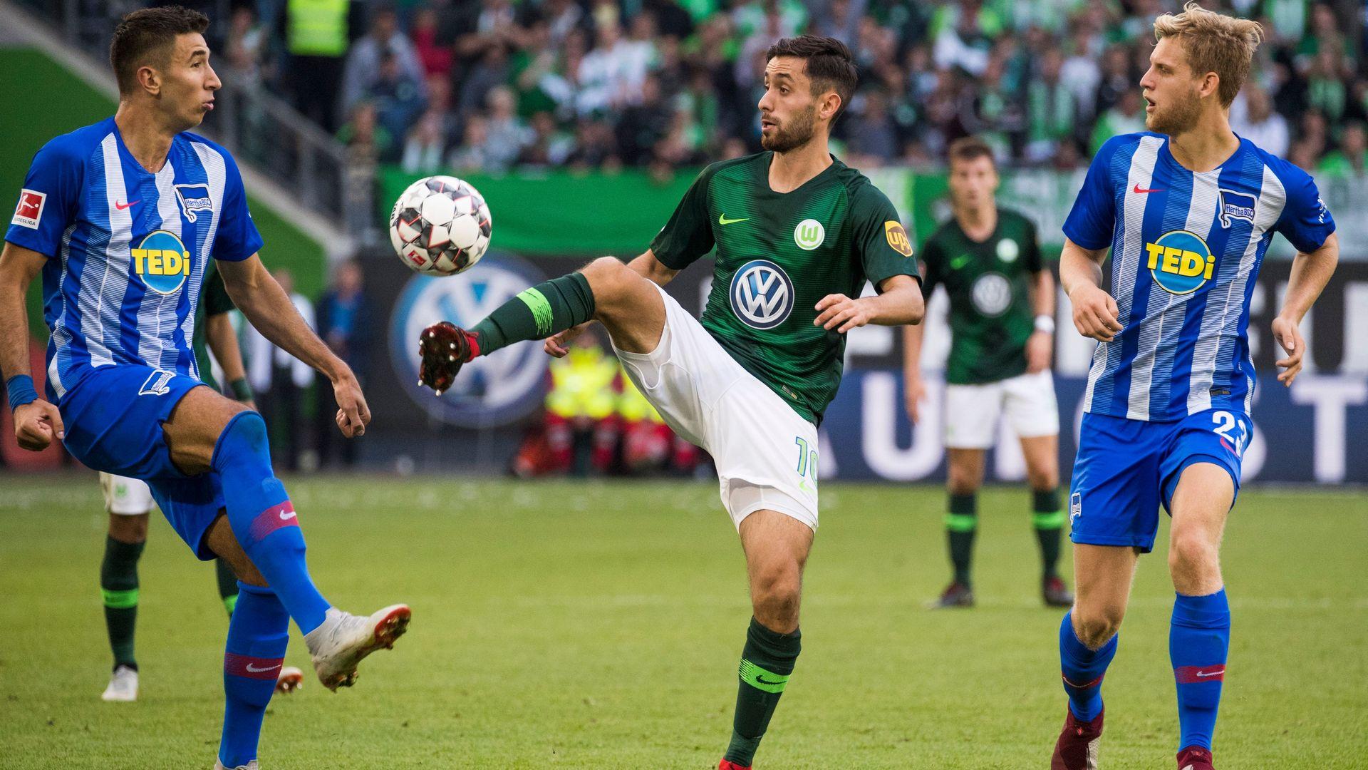 Yunus Malli Wolfsburg Hertha Berlin
