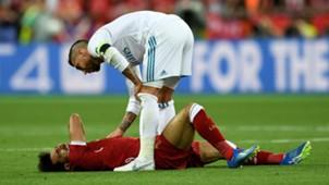 Sergio Ramos Mohamed Salah Real Liverpool 26052018