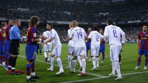 Barcelona Real Madrid guard of honour pasillo