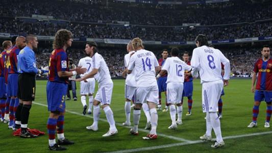 Barcelona Real Madrid guard of honour pasillo