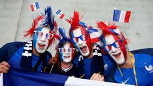 French fans Euro 2016