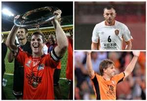 Matt McKay Michael Theo Avram Papadopoulos Brett Holman Brisbane Roar A-League AFC Champions League
