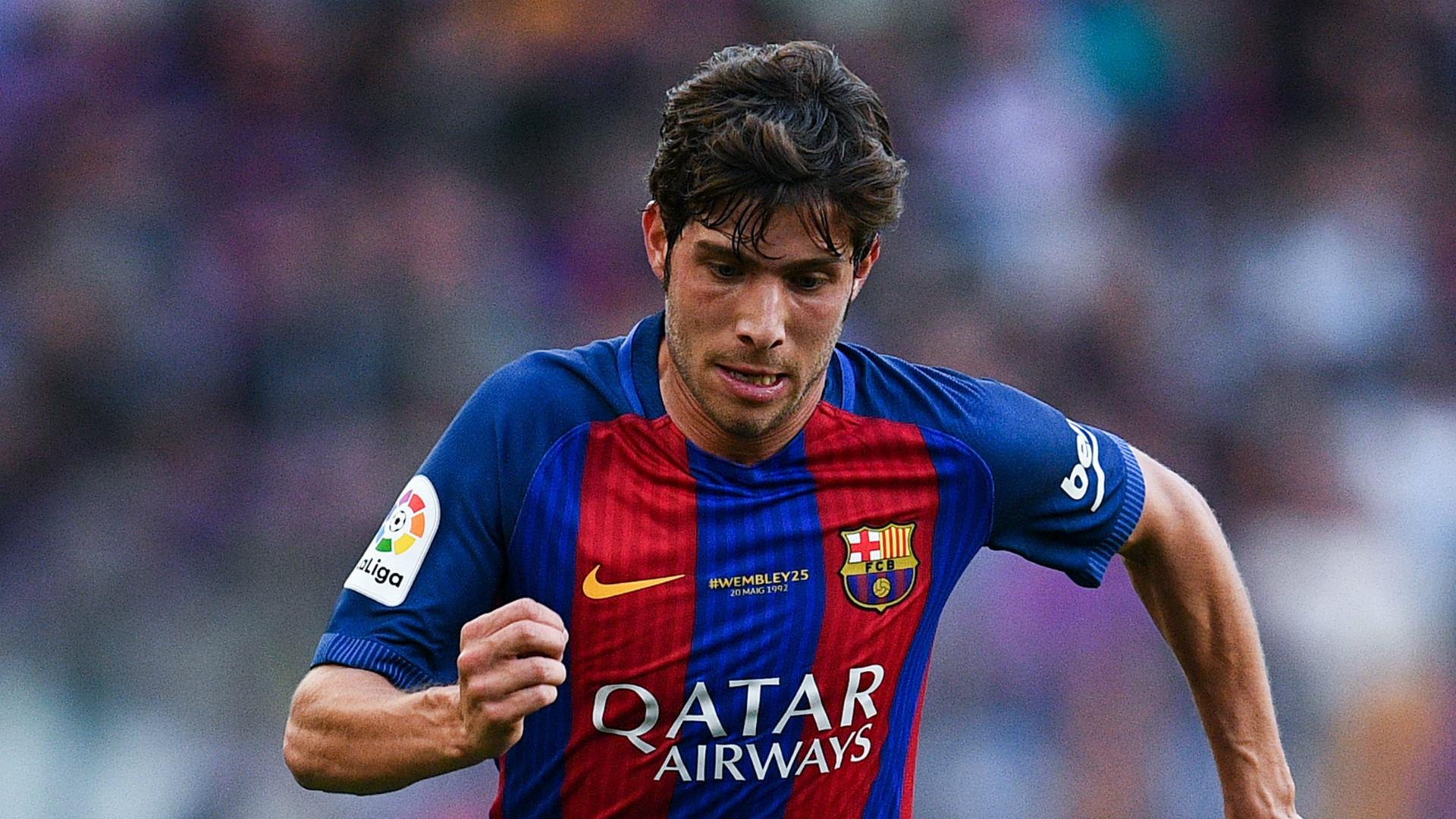 Sergi Roberto Barcelona 2017