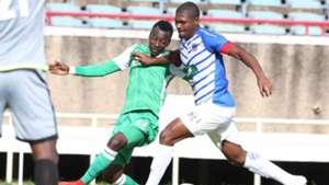 Francis Mustafa of Gor Mahia v Lobi Stars of Nigeria.