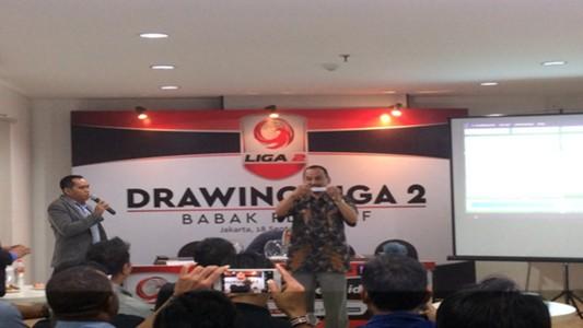 Drawing play-off Liga 2