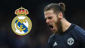 David de Gea Real Madrid