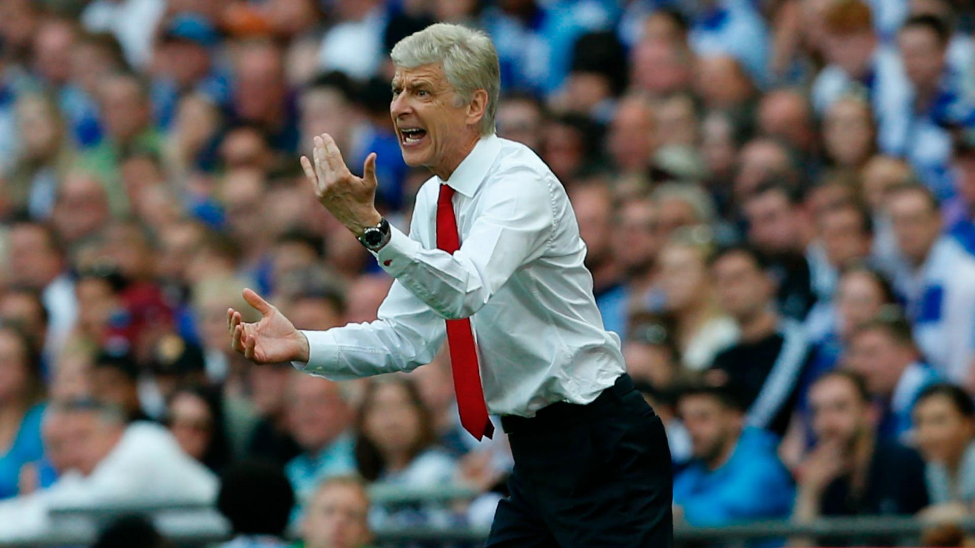 Arsene Wenger Arsenal head coach