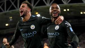 Kyle Walker Raheem Sterling Manchester City
