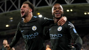 Kyle Walker Raheem Sterling Manchester City