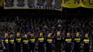Boca Independiente minuto de silencio 050617