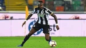 Seko Fofana on target as Udinese succumb to Napoli