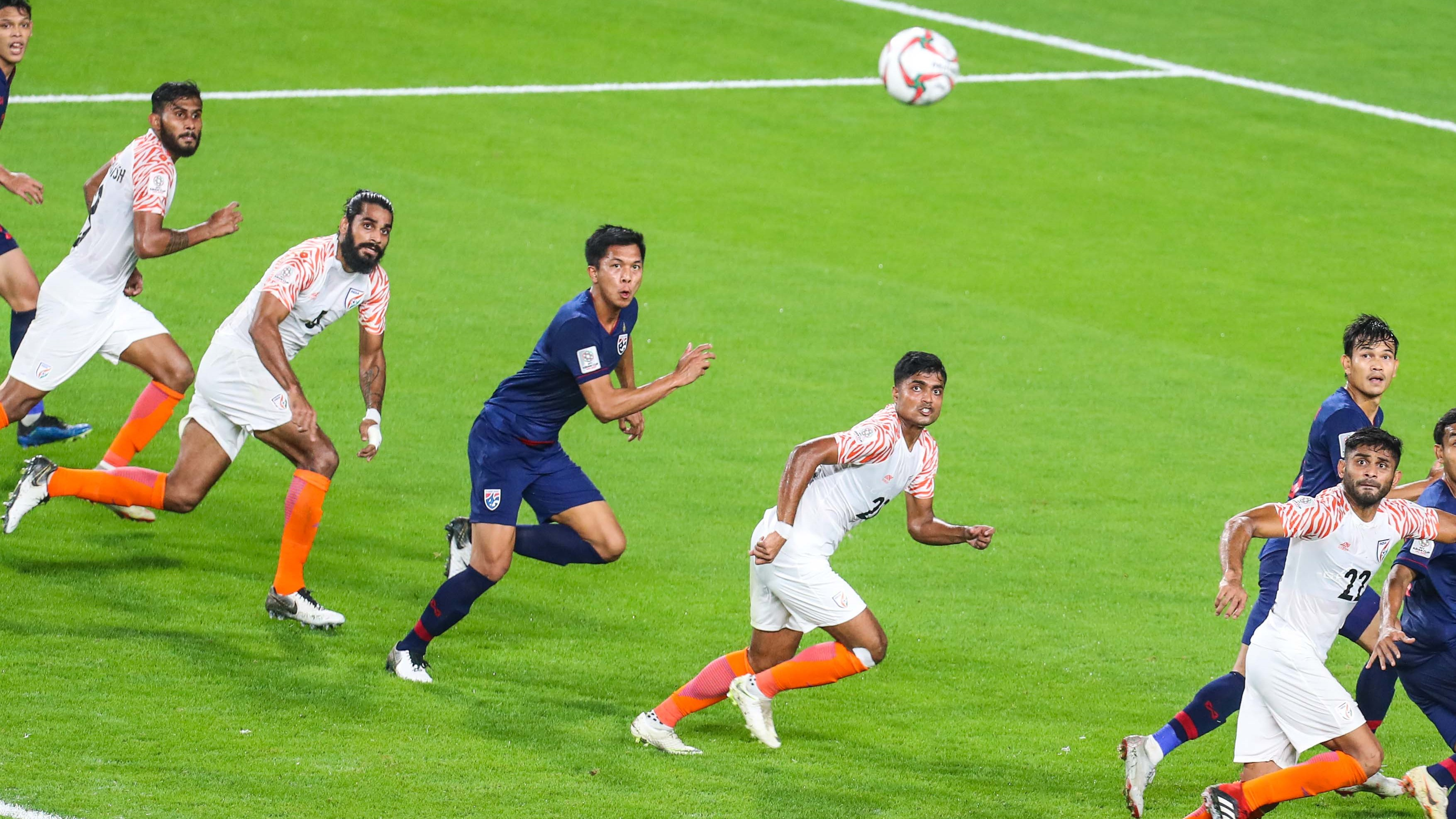 Kotal Jhingan Anas Bose Thailand India Asian Cup 2019