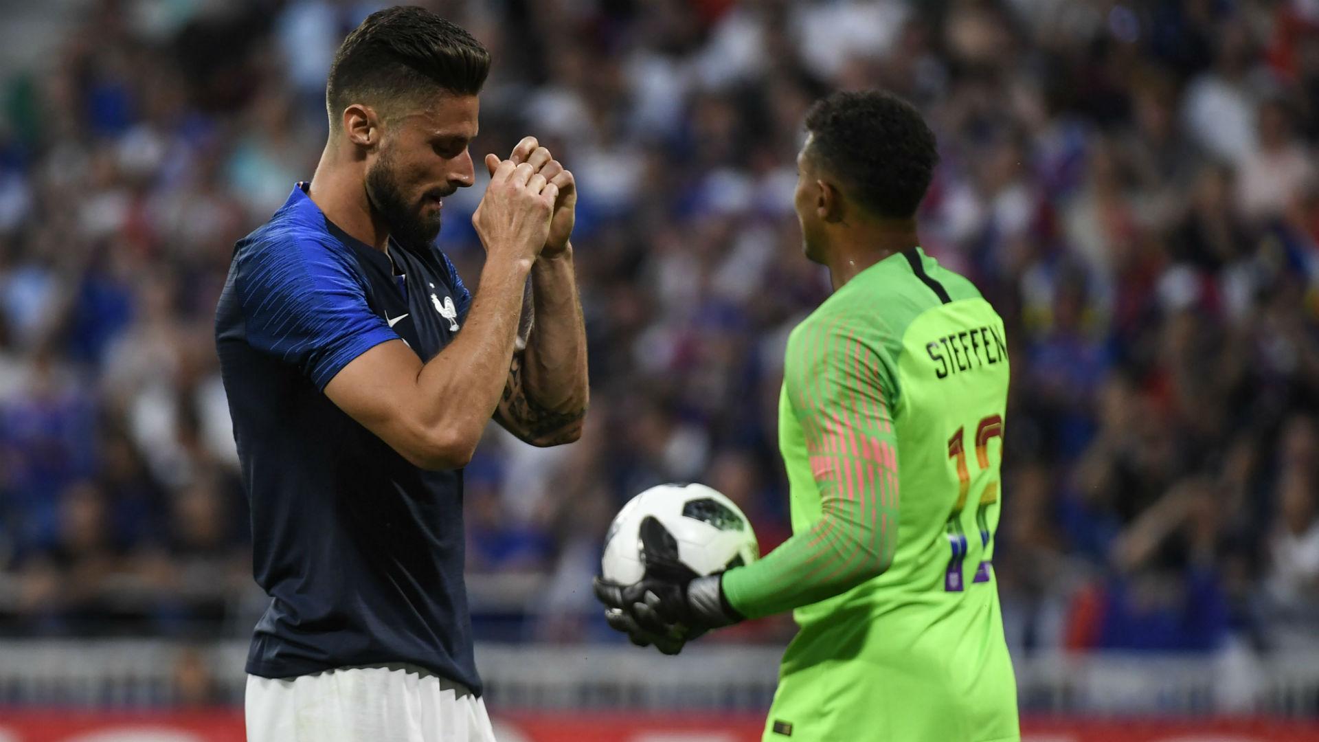 Olivier Giroud France USA Friendly 09062018