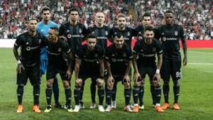 Besiktas line up vs Partizan UEL 08302018