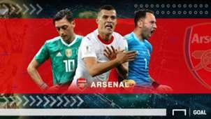 GFXID Cover Rapor Pemain Arsenal di Piala Dunia 2018
