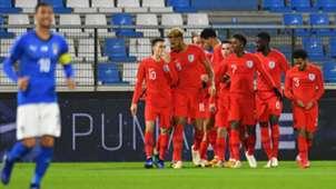 Dominic Solanke goal Italy England Under 21