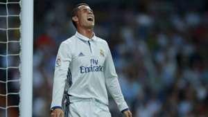 Cristiano Ronaldo Real Madrid Schmerz 21092016