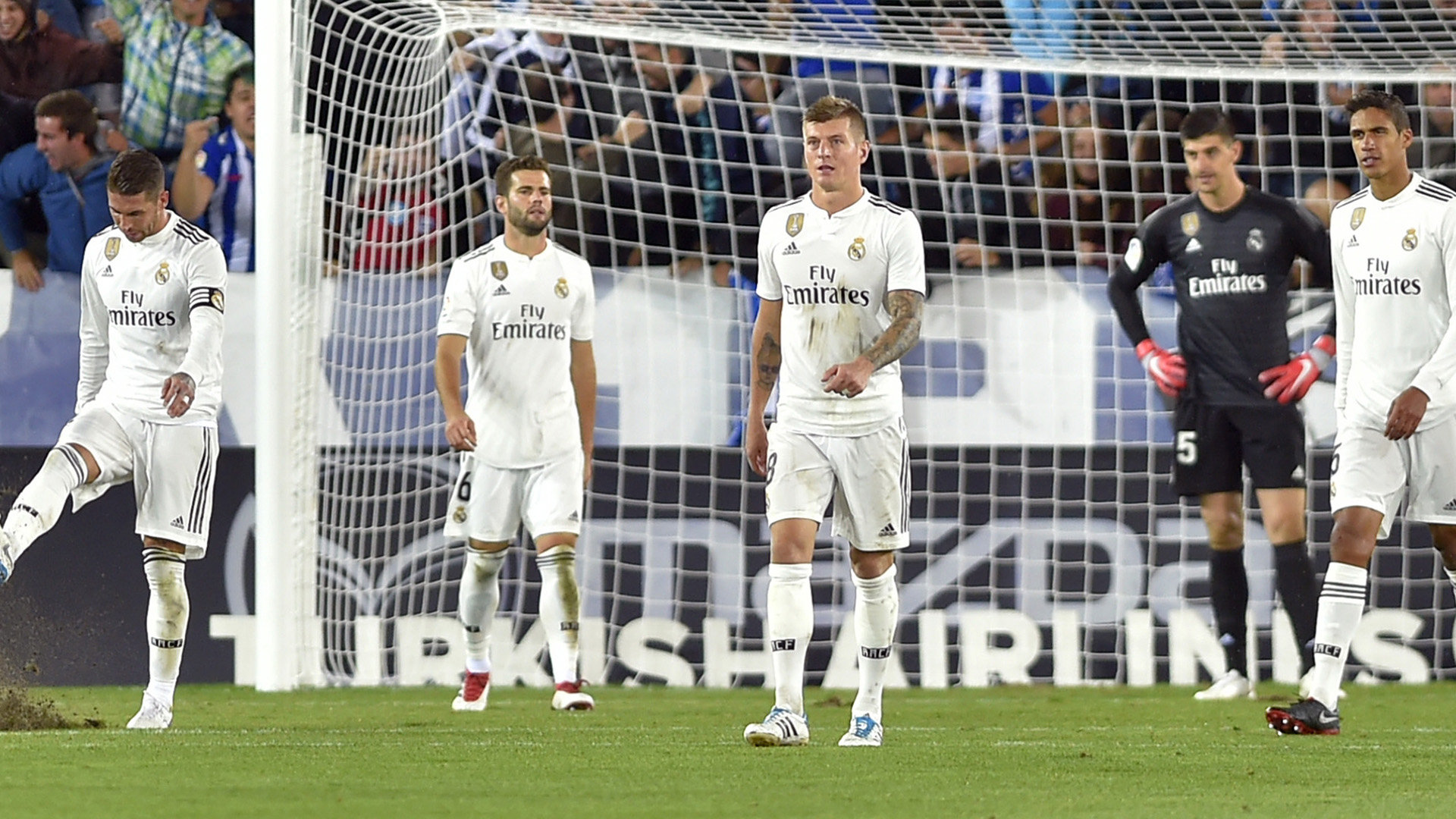 Real Madrid players defeat 2018