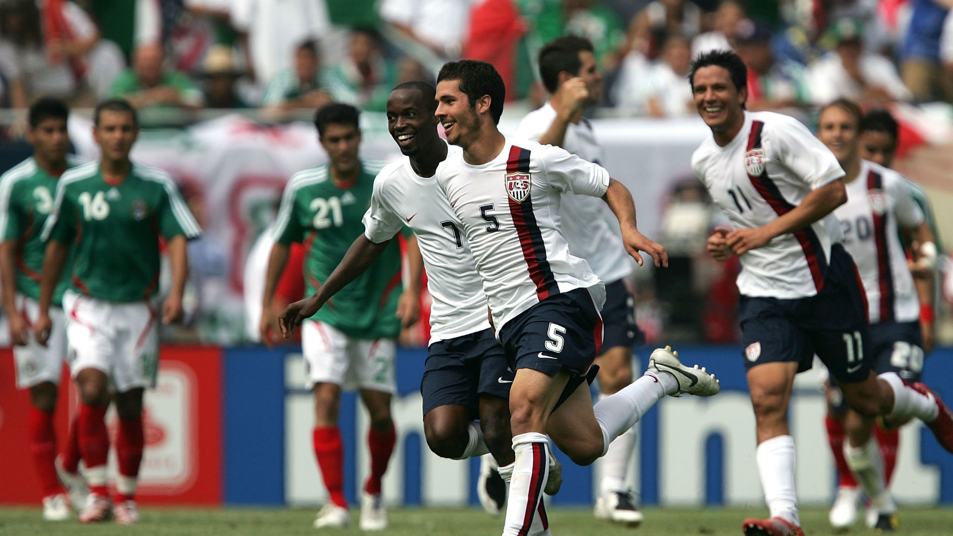 Benny Feilhaber USA Mexico 2007 Gold Cup Final