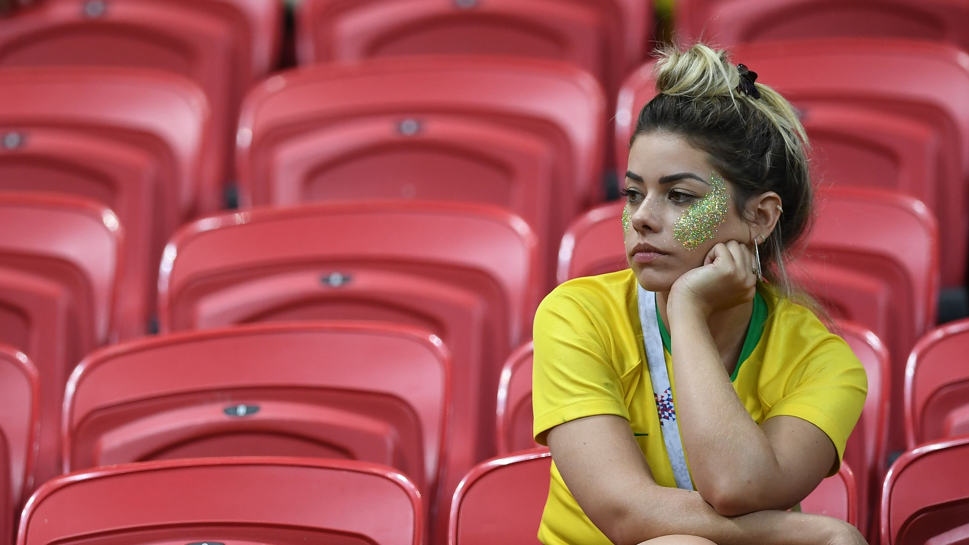 Brazil supporter Kazan Arena World Cup 06072018