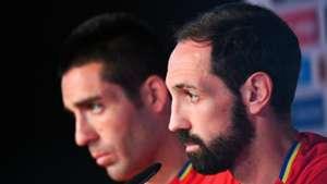 Juanfran Bruno Spain press conference UEFA EURO 2016