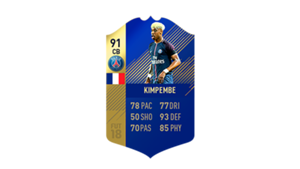 FIFA 18 Ligue 1 Team of the Season Kimpembe
