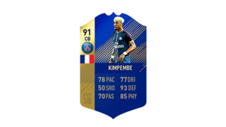 FIFA 18 Ligue 1 Team of the Season Kimpembe