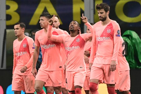 Inter Barcelona Champions Leaguer
