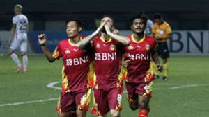 Evan Dimas Ilham Udin Paulo Sergio - Selebrasi Bhayangkara FC