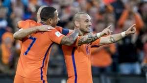 Wesley Sneijder, Nederland - Luxemburg, 090617