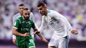 Nabil El Zhar Theo Hernandez Real Madrid Leganes Copa del Rey 24012018
