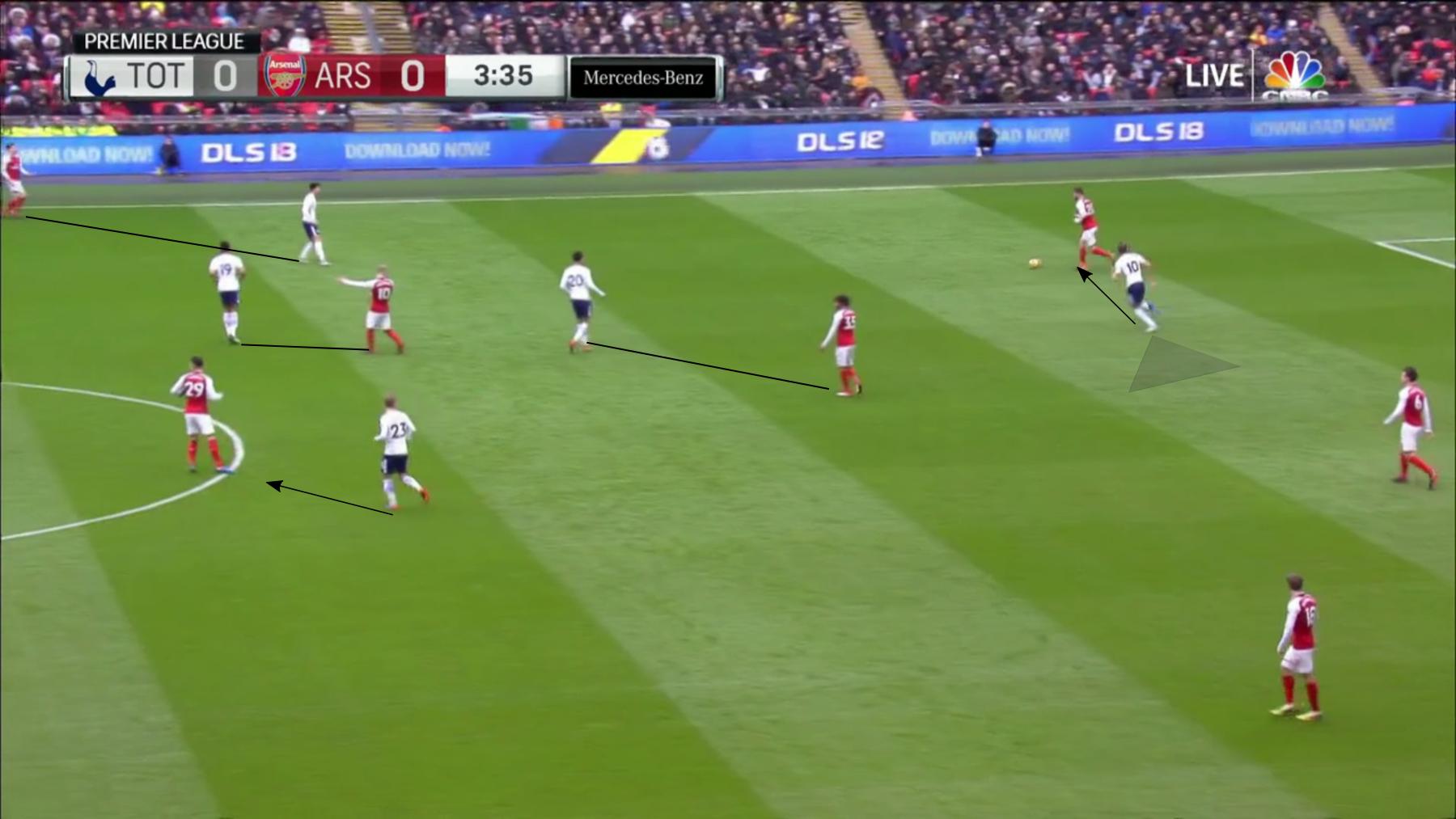 Arsenal Spurs 1.
