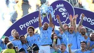 Manchester City Premier League title 2018-19