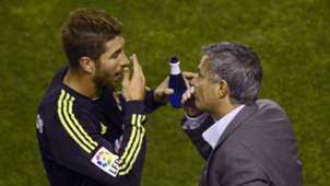 Sergio Ramos Jose Mourinho Real Madrid 2012-13