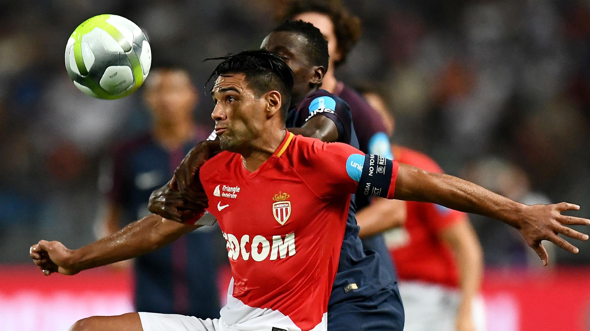 Radamel Falcao García Monaco vs PSG 2017-18
