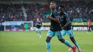 David Neres, Bertrand Traoré, NEC - Ajax, 08042017