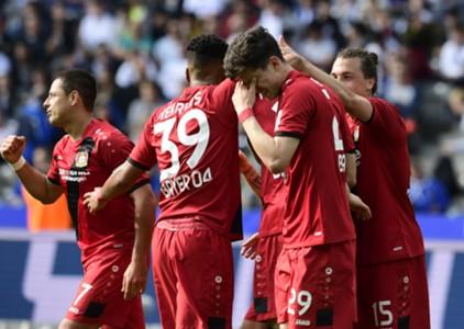 Hertha BSC Bayer Leverkusen 05202017