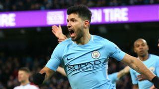 Sergio Aguero Manchester City FA Cup